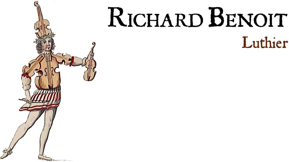 Richard Benoit, Luthier